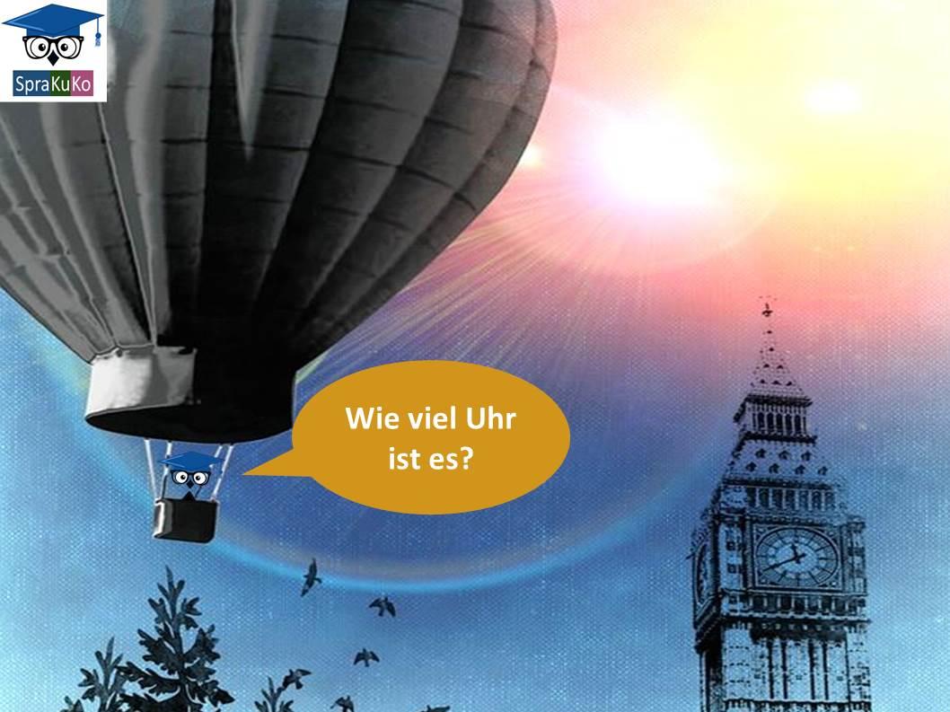 Sprakuko Heißluftballon zwanzig vor zwölf