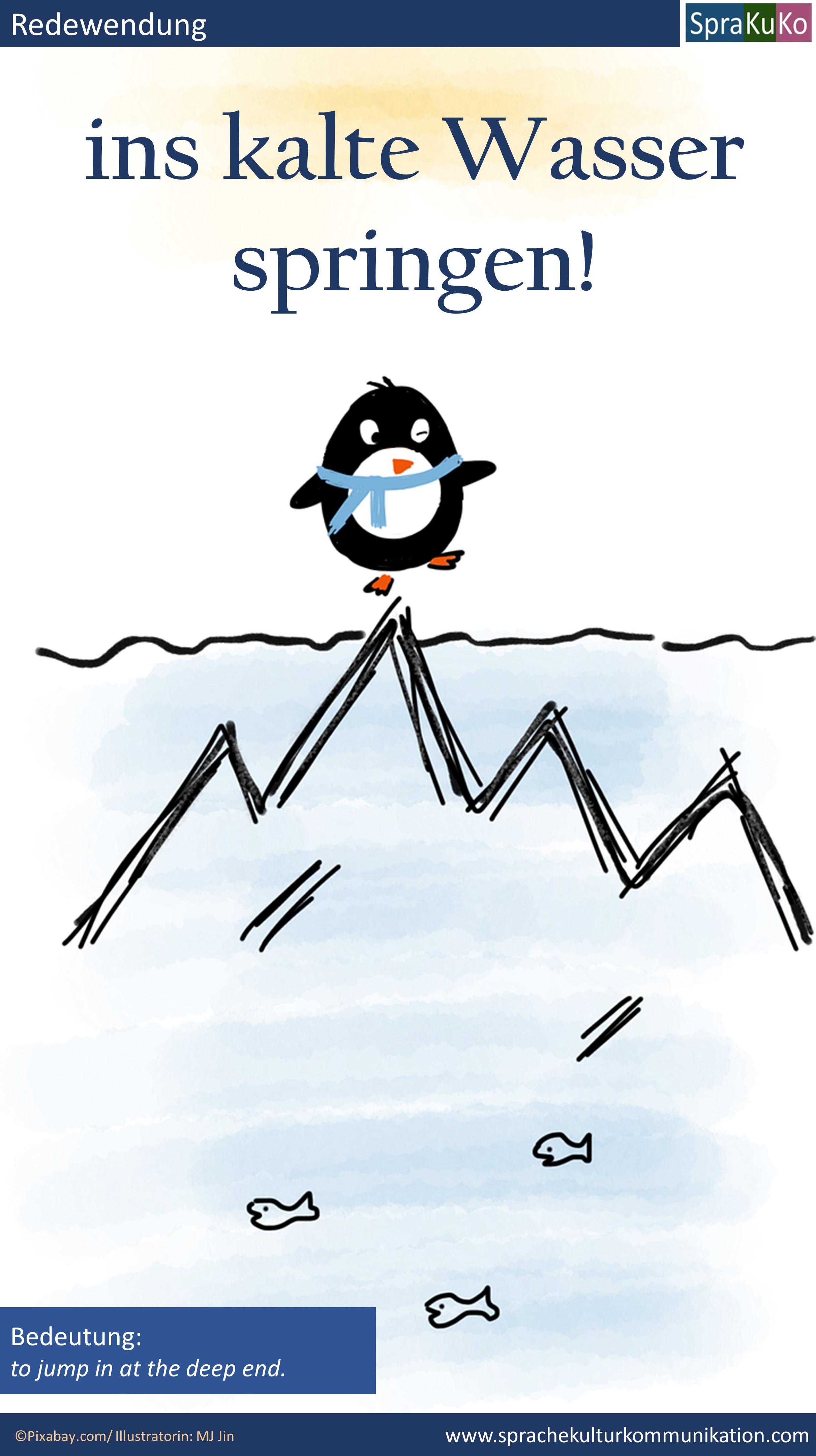 Redewendung Ins kalte Wasser springen.jpg