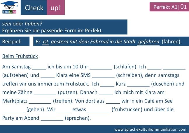Check up Prefekt haben und sein (1)